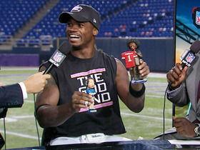 Video - Minnesota Vikings running back Adrian Peterson: 'I'm just trying to soak it in'