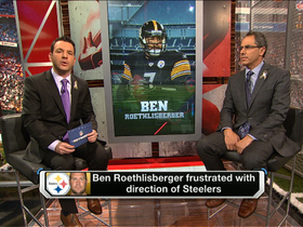 Video - Ben Roethlisberger not happy in Pittsburgh