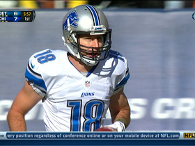 Video - Detroit Lions wide receiver Kris Durham 5-yard touchdown