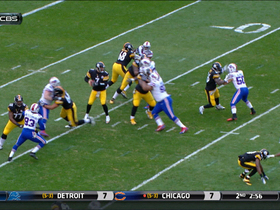 Video - Pittsburgh quarterback Ben Roethlisberger gets crafty, Steelers get 34-yard gain