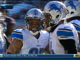 Video - Detroit Lions linebacker DeAndre Levy intercepts Chicago Bears quarterback Jay Cutler