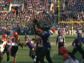 Video - Baltimore Ravens wide receiver Torrey Smith 7-yard TD reception