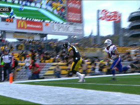 Video - Pittsburgh Steelers wide receiver Jerricho Cotchery 5-yard TD grab