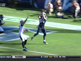 Video - Tennessee Titans tight end Taylor Thompson 9-yard TD reception