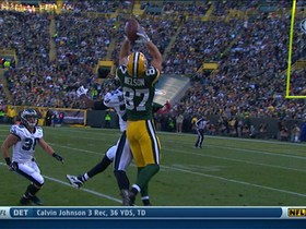 Video - Green Bay Packers wide receiver Jordy Nelson 30-yard reception