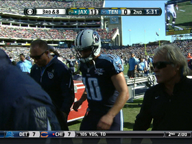 Video - Tennessee Titans quarterback Jake Locker's foot injury