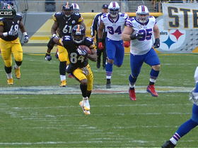 Video - Pittsburgh Steelers wide receiver Antonio Brown 40-yard catch