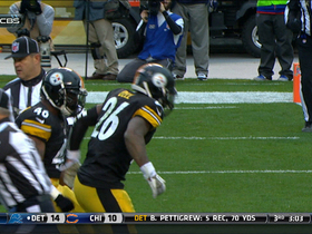 Video - Pittsburgh Steelers running back Le'Veon Bell 4-yard TD run