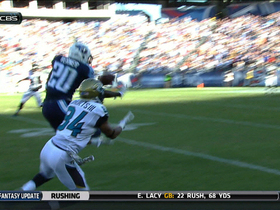 Video - Tennessee Titans cornerback Alterraun Verner's interception