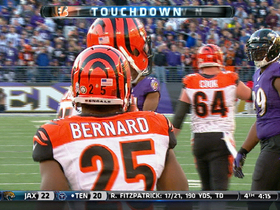Video - Cincinnati Bengals running back Giovani Bernard 18-yard TD reception