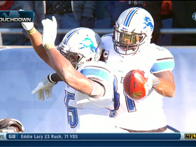 Video - Detroit Lions wide receiver Calvin Johnson 14-yard touchdown