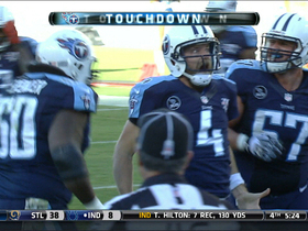 Video - Tennessee Titans quarterback Ryan Fitzpatrick rushing touchdown