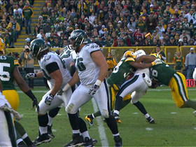 Video - Green Bay Packers sack and strip Philadelphia Eagles quarterback Nick Foles