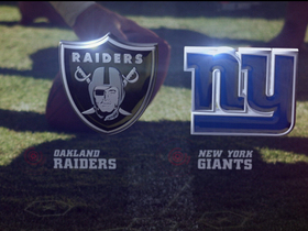 Video - Week 10: Oakland Raiders vs. New York Giants highlights