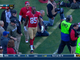 Watch: Vernon Davis leaves game with injury