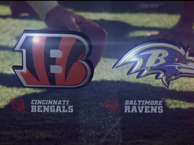 Video - Week 10: Cincinnati Bengals vs. Baltimore Ravens highlights