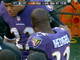 Watch: Tensions high on Ravens sideline