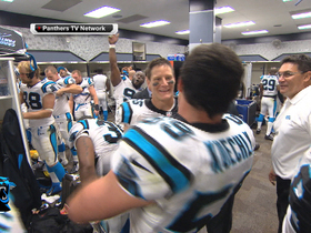 Video - Carolina Panthers celebrate another victory