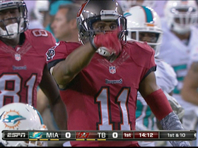 Video - Tampa Bay Buccaneers wide receiver Tiquan Underwood 30-yard reception