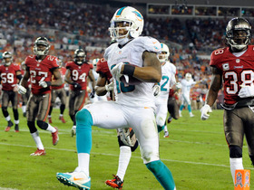 Video - Miami Dolphins wide receiver Rishard Matthews 19-yard touchdown