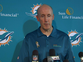 Video - Dolphins postgame press conference
