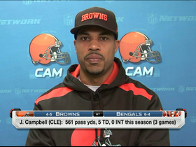 Video - Cleveland Browns quarterback Jason Campbell: You just have to wait for your time