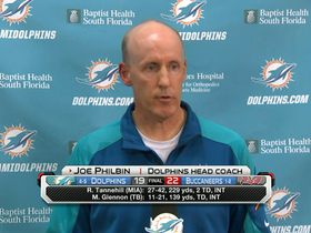 Video - Miami Dolphins coach Joe Philbin: No comment until review is complete