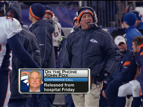 Video - Denver Broncos coach John Fox 'feeling better every day'