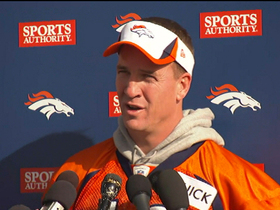 Video - Denver Broncos quarterback Peyton Manning: 'It's my preference to be out there'