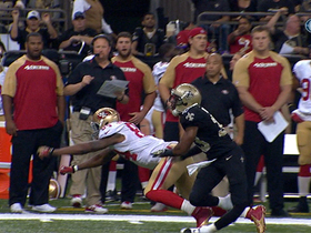 Video - New Orleans Saints cornerback Jabari Greer leaves game with leg injury