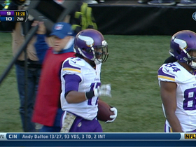 Video - Minnesota Vikings quarterback Christian Ponder 38-yard TD pass