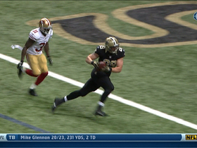 Video - New Orleans Saints quarterback Drew Brees 3-yard TD pass to Josh Hill