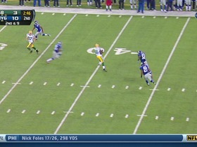 QB Tolzien to TE Bostick, 26-yd, pass