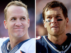 Video - Denver Broncos quarterback Peyton Manning vs. New England Patriots quarterback Tom Brady: The road to a rivalry