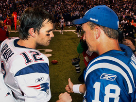 Video - Peyton Manning vs. Tom Brady: Round 14