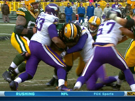 Video - Green Bay Packers running back Eddie Lacy 3-yard touchdown run