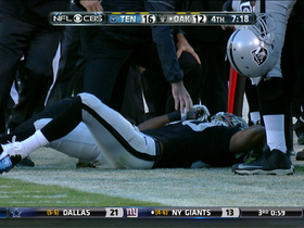Video - Oakland Raiders wide receiver Rod Streater 13-yard leaping catch