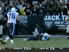 Video - Tennessee Titans wide receiver Justin Hunter 9-yard catch