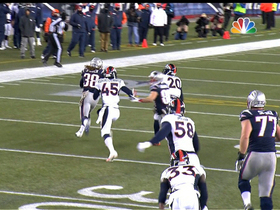 Video - New England Patriots running back Brandon Bolden 33-yard run
