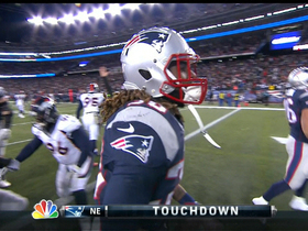 Video - New England Patriots running back Brandon Bolden 1-yard TD