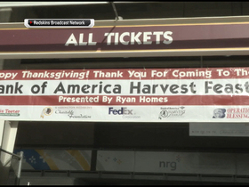 Video - Washington Redskins give back for Thanksgiving