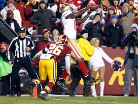 Video - San Francisco 49ers wide receiver Anquan Boldin 19-yard touchdown catch