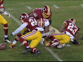 Video - Washington Redskins fumble recovery