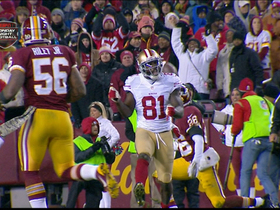 Video - San Francisco 49ers  wide receiver Anquan Boldin 32-yard catch