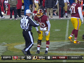 Video - RGIII takes a painful hit