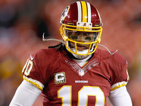 Video - Brian Billick: Robert Griffin III's dad in Washington Redskins locker room 'not a good thing'