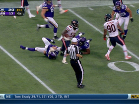 Video - Chicago Bears linebacker Khaseem Greene picks off Minnesota Vikings QB Matt Cassel