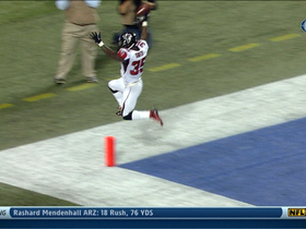 Video - Atlanta Falcons running back Antone Smith 38-yard touchdown run