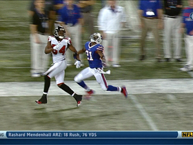 Video - Atlanta Falcons wide receiver Roddy White 29-yard reception