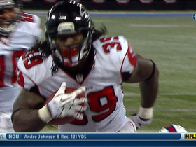 Video - Atlanta Falcons running back Steven Jackson 1-yard touchdown run